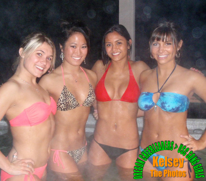 Hottie and sexy study group having fun